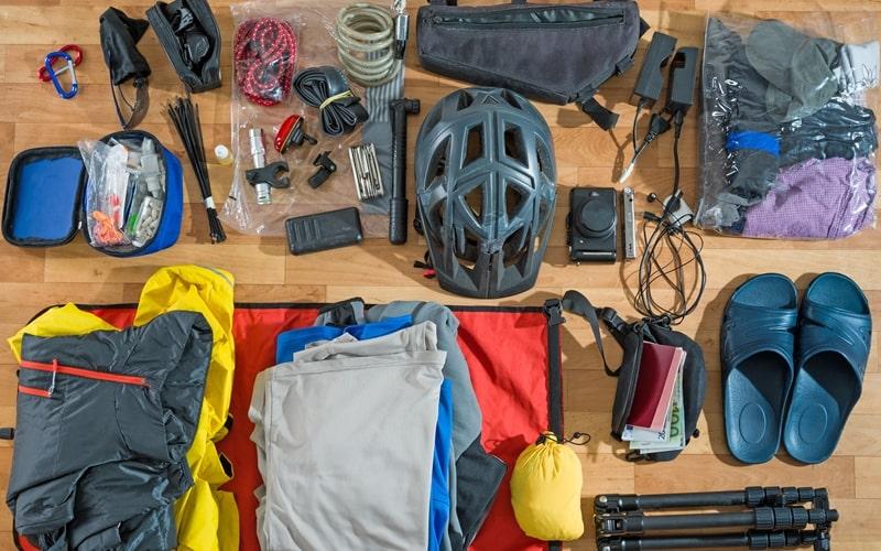 Camping Gepäck