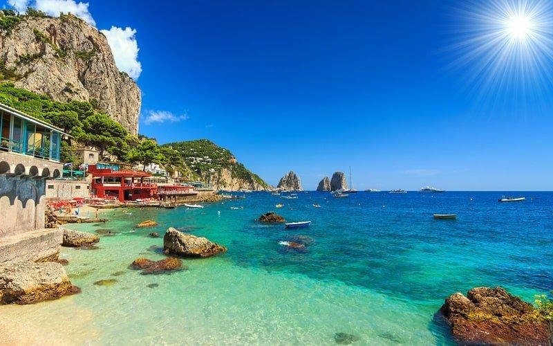 Italienische Insel Capri