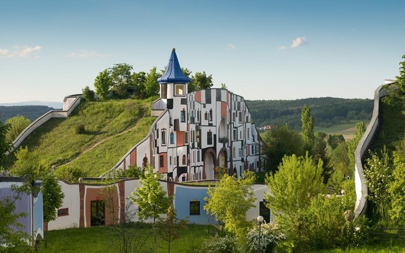 Copyright Rogner Bad Blumau © Hundertwasser Architekturprojekt