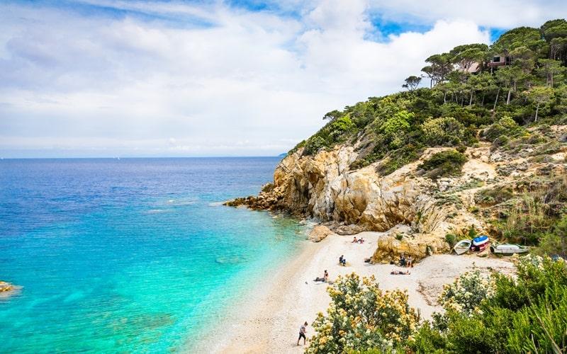 Italienische Insel Elba