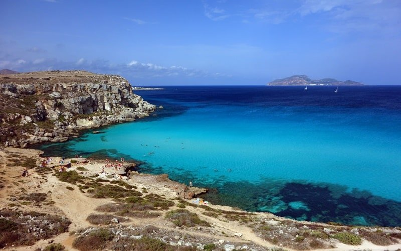 Italienische Insel Favignana