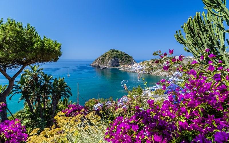 Italienische Inseln Ischia