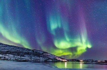 Island Polarlicht November