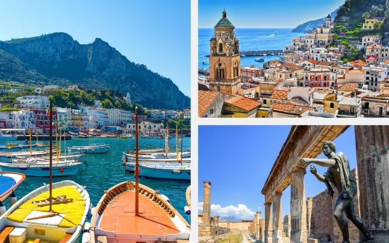 Italien Region Kampanien