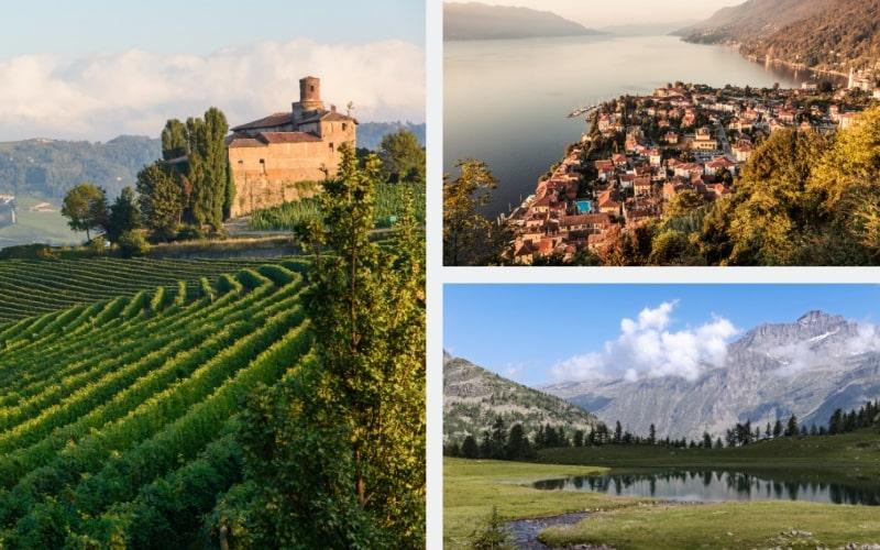 Italien Region Piemont