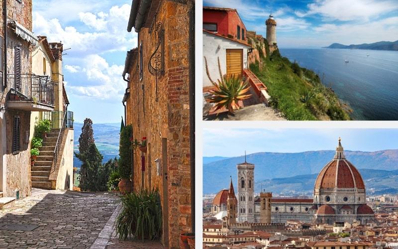 Italien Region Toskana