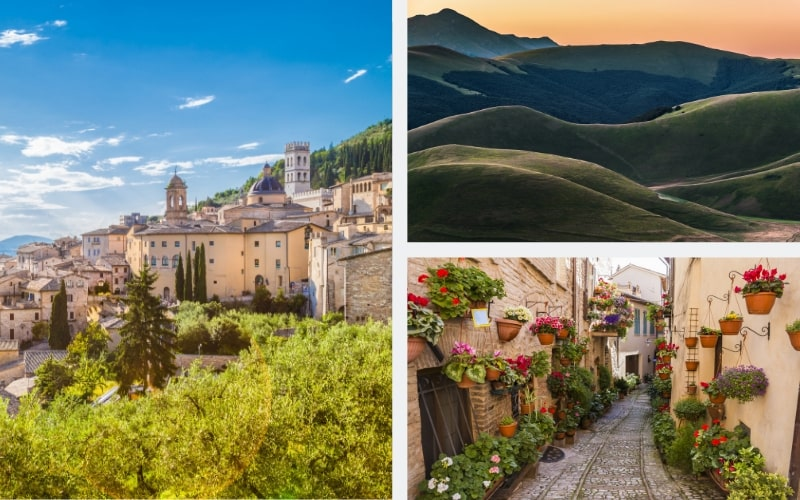 Italien Region Umbrien