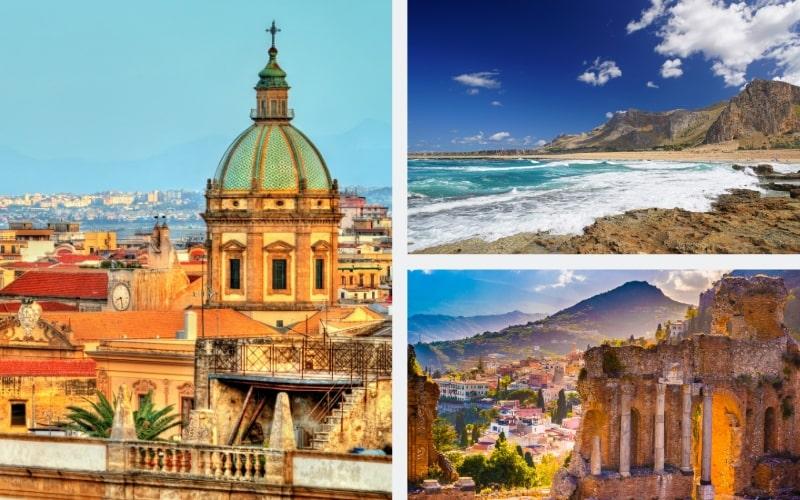 Italien Regionen Sizilien