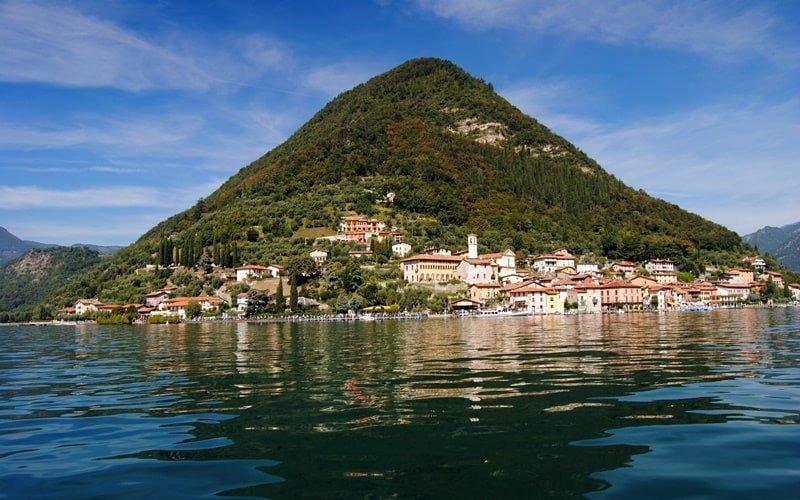 Italienische Insel Monte Isola