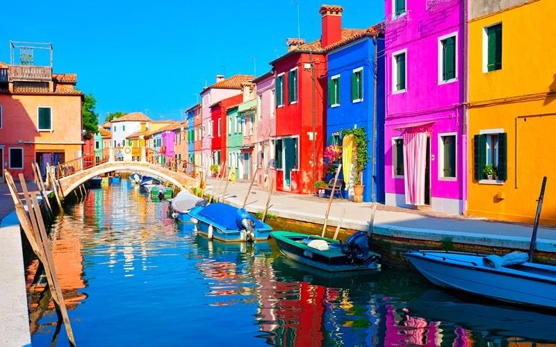Italienische Insel Murano
