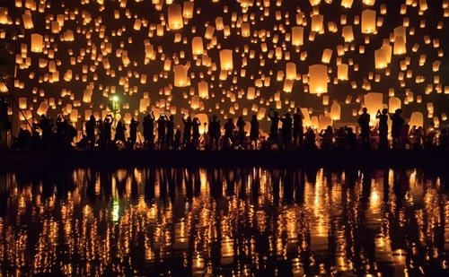 November Thailand Lichterfest