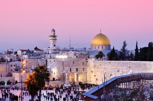 Reiseziel Juni Israel Felsendom