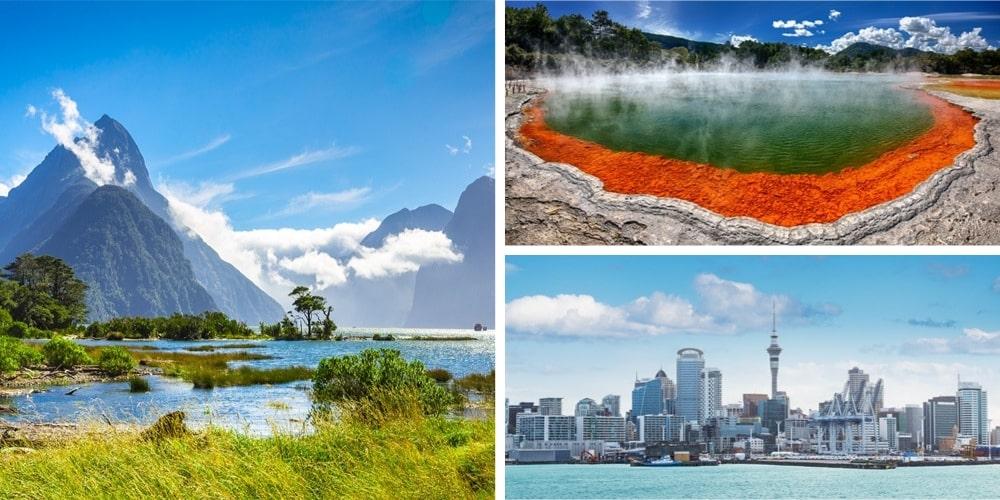 Reiseziel November Neuseeland