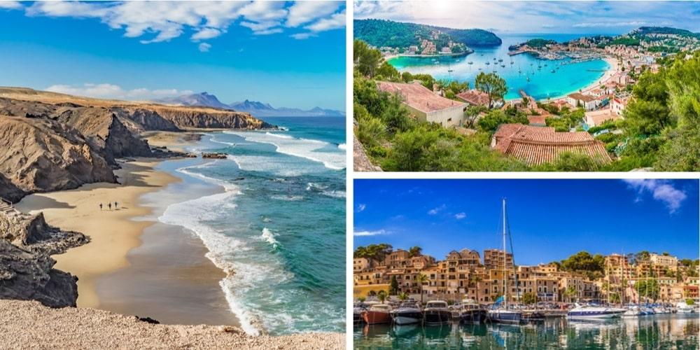 Reiseziel November spanische Inseln