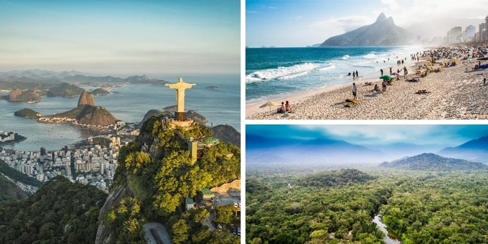 Reiseziele Dezember Brasilien