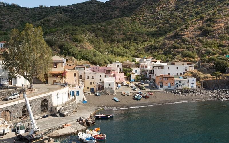 Italienische Inseln Salina