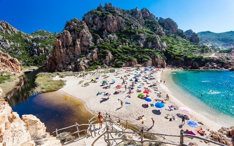 Italienische Insel Sardinien