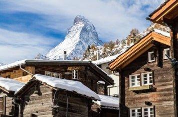 Schweiz Dezember Skiurlaub