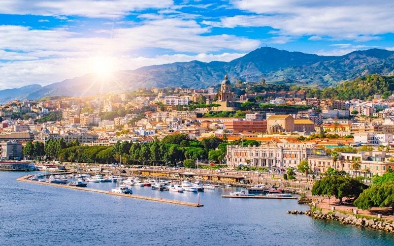 Italienische Inseln Sizilien