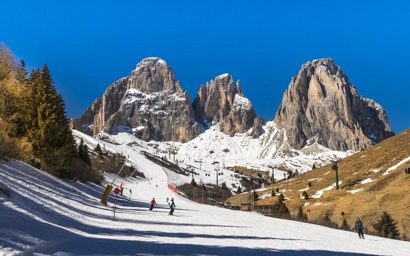 Skigebiet Italien Drei Zinnen