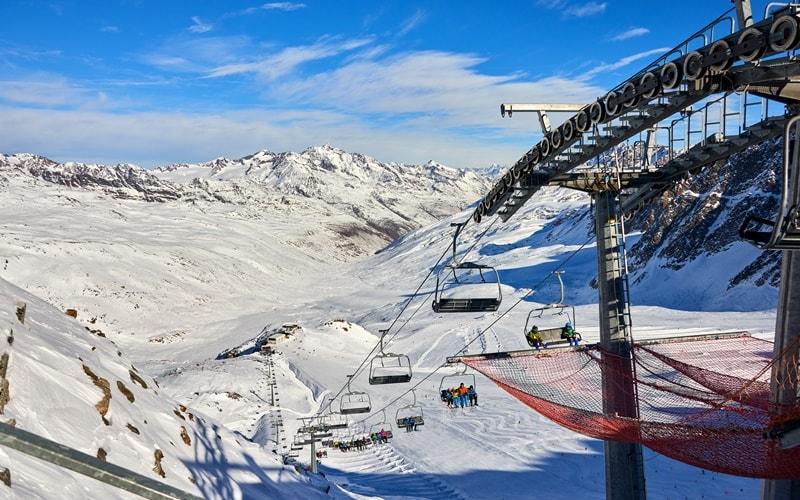 Skigebiet Italien Schnalstaler Gletscher