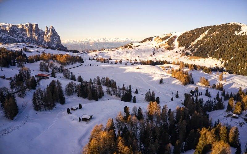 Skigebiet Italien Seiser Alm