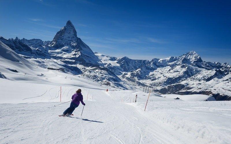 Skigebiete Italien Matterhorn