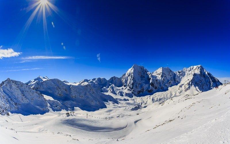 Skigebiete Italien Sulden am Ortler