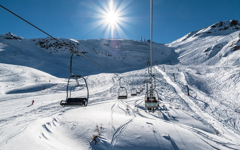 Skigebiete Italien Via Lattea