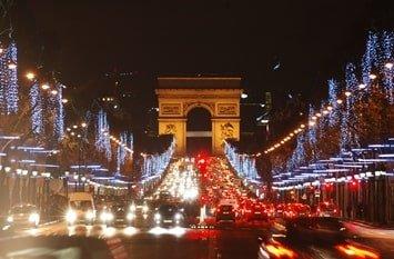 Städtereise Dezember Paris