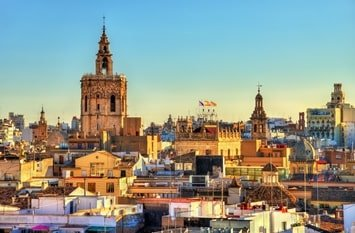Städtereise November Valencia