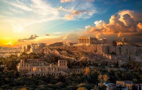 Urlaub Athen Juni