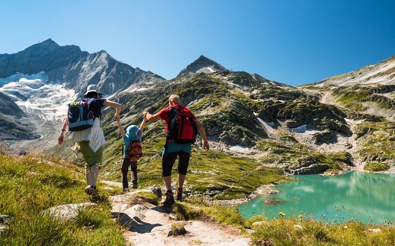 Wandern Österreich Wandern mit Kindern