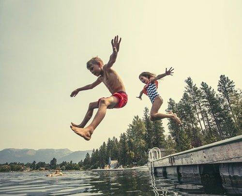 August Urlaub Sommerferien