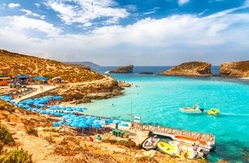 Badeurlaub Juli Malta