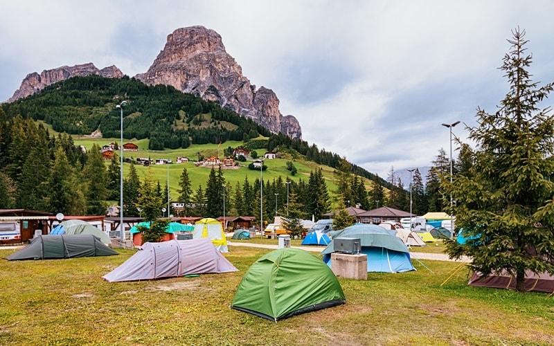 Campingplatz Italien Seiser Alm