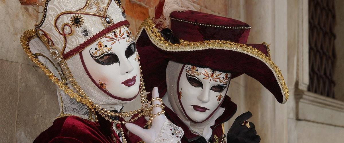 Feiertage Italien Karneval in Venedig