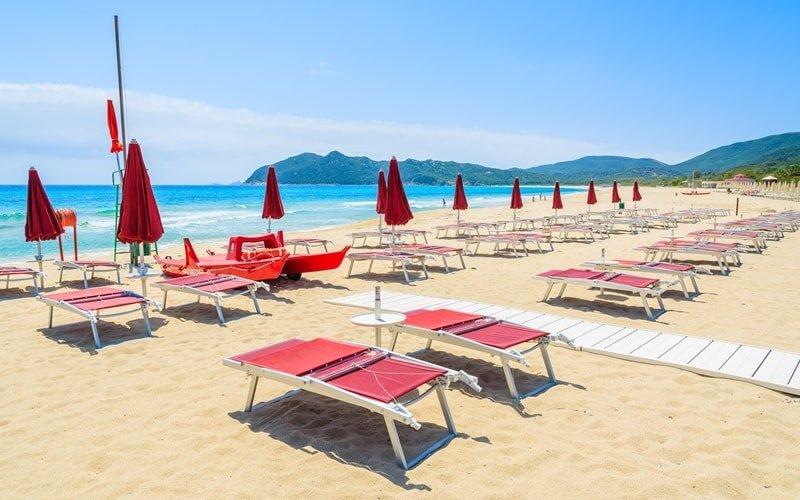 Ferienpark Italien Rey Beach Club Costa Rei