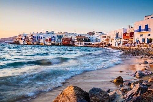 Griechenland Urlaub August