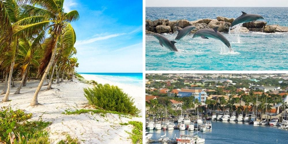 Reiseziele August ABC-Inseln