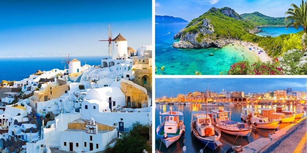 Reiseziele August Griechenland