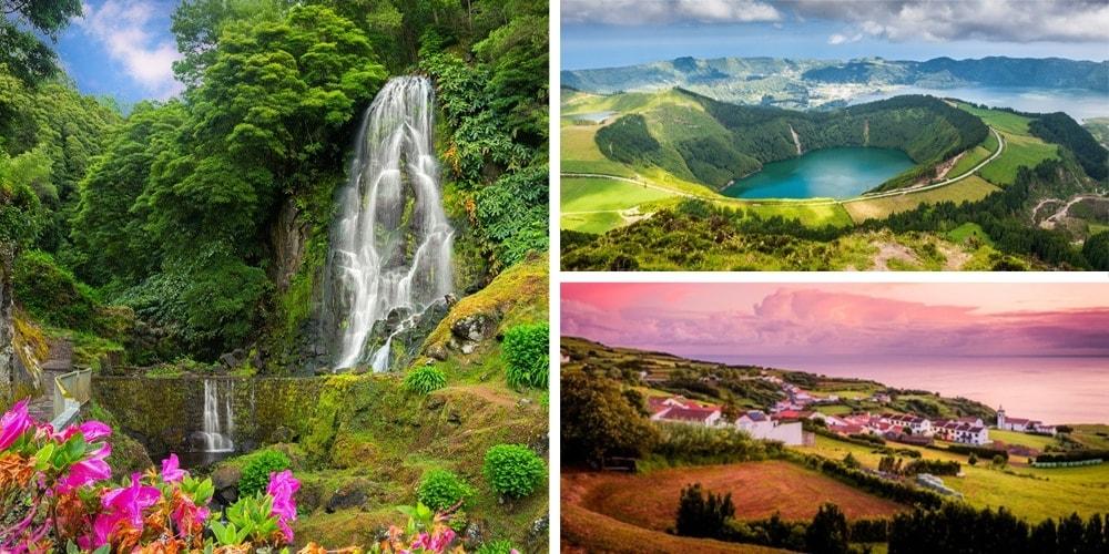 Reiseziele Juli Azoren