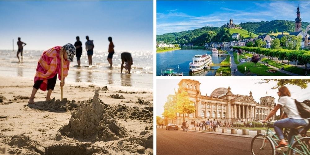 Reiseziele Juli Deutschland
