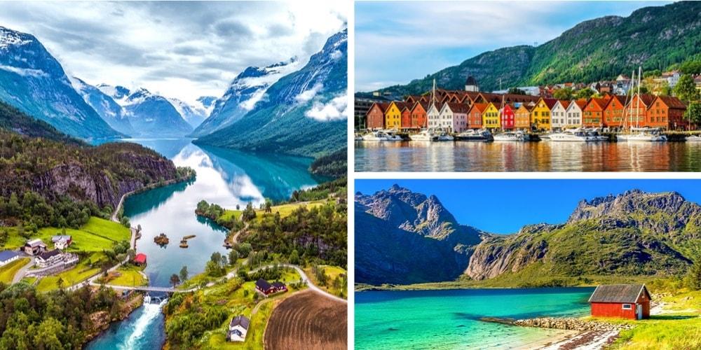 Reiseziele Juli Norwegen