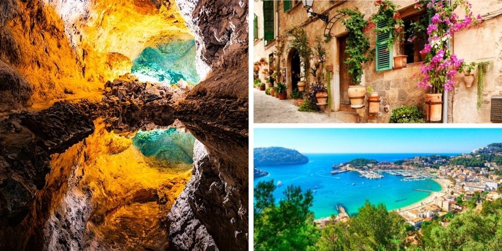 Reiseziele Juli spanische Inseln