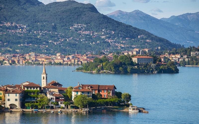 Seen in Italien Lago Maggiore