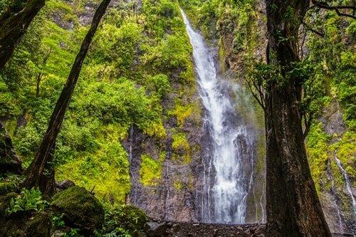 Tahiti Wasserfall