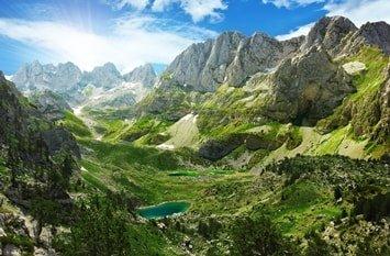 ausgefallenes Reiseziel August Albanien