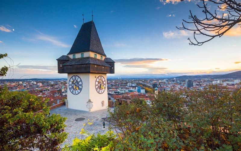 graz schönste stadt in österreich