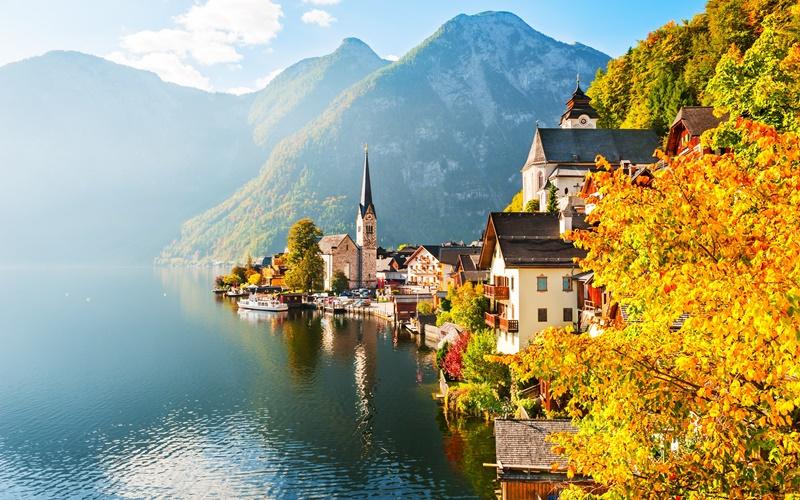 hallstatt österreich schöner ort
